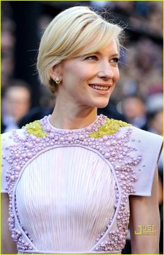 givenchy couture 2011 cate blanchett - detailing