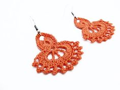 PDF Tutorial Crochet PatternDangle Earrings 23 by accessoriesbynez, $2.90
