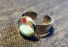 """Ringe - Cabochon-Ring """"Faith"""" - ein Designerstück von Soulmate-Works bei DaWanda"""