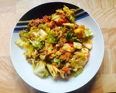 Mittagessen ist fertig – Spitzkohlpfanne – Elly´s Do it yourself