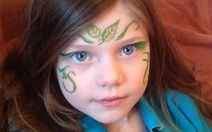 Flower Fairy Face Paint from My Kid Craft http://mykidcraft.com/flower-fairy-face-paint/