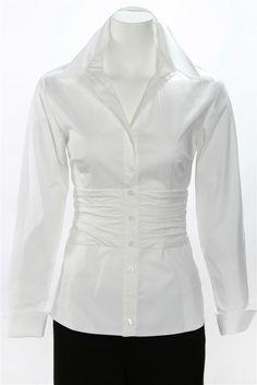 48a6a42fea Marlon Long Sleeve White Crisp White Shirt