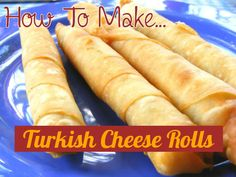 Visitors to Turkey often leave with fond memories of the delicious Turkish cheese rolls served as a starter - those are Sigara Böreği amp; Lebanese Recipes, Turkish Recipes, Turkish Cheese, Turkish Breakfast, Vegetarian Recipes, Cooking Recipes, Cheese Rolling, Eastern Cuisine, Middle Eastern Recipes