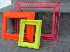 neon frames!