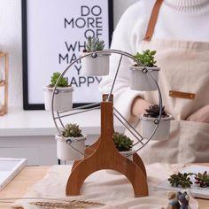 Ferris Wheel Plant Pot Stand