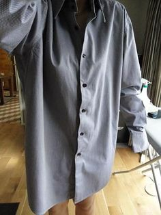 JLTFK: How to tailor a shirt (Refashion a men's hh to fit a woman)