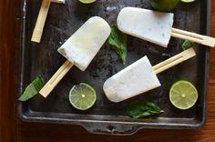 Coconut Mojito Popsicles