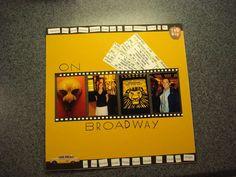 New York Scrapbook - Broadway page