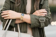 Summer Trench :: Pleated trench & Tank Dress