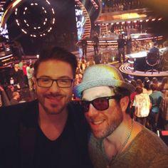 Idol Alums Danny Gokey & Elliott Yamin Turn Up, American Idol