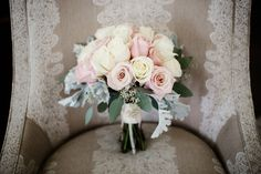 Bridal Bouquet | Something Old | The Milestone Aubrey Mansion |  Natalie Gore and James Casey Wedding Day