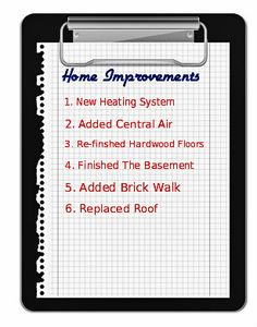 What are the best home improvements that will help sell a home? See the smart improvements that have a great return on investment and how to market them.