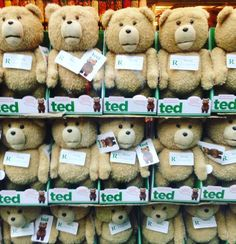 "In Ted's Boston Accent ""Happy St.Patricks Day Ya Retard"" can you imagine having this many talking Teds? #happystpatricksday #ultra #nannylife #newyorkcity #sanfrancisco #comedy #movie #follow4follow #followforfollow by vegasinsf"
