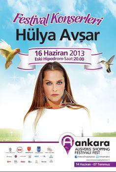 Ankara Shopping Fest 17 Haziran 2013 Hülya Avşar Konseri