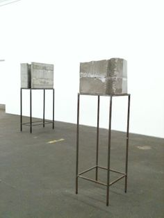 MONOCHROMATIC AXONOMETRIC: Concrete Genzken Isa Genzken at Hamburger Bahnhof, Berlin 2012: