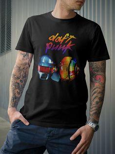 Daft Punk Dance Electro Music DJ TShirt by 21street on Etsy, $16.99