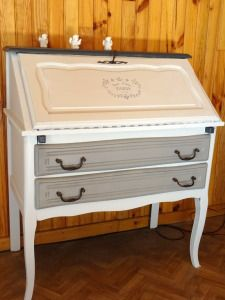 secretaire-idee-renovation-meuble-01 – Rénov Meuble 66 Diy Furniture 2, Hallway Furniture, Furniture Projects, Painted Furniture, Desk Makeover, Secretary Desks, Drapery Panels, Home Staging, Shabby Chic