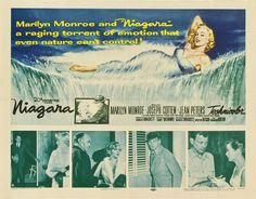Niagara | US Half Sheet Movie Poster, 1953