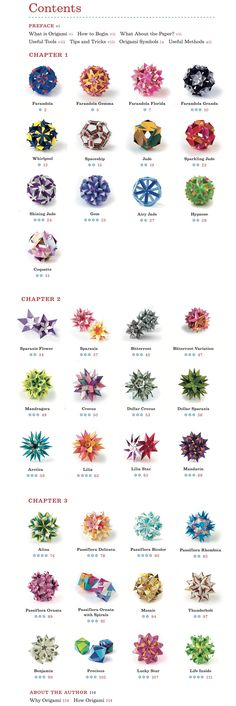 Welcome to Dover Publications Kusudama Origami