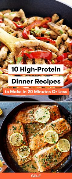 27 high protein dinners you can make in 20 minutes or less