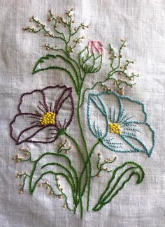 Hand embroidery/Hand embroidery stitches/Flower basket embroidery design for cus. Hand embroidery/Hand embroidery stitches/Flower basket embroidery design for cus… – BORDADOS Brazilian Embroidery Stitches, Crewel Embroidery Kits, Embroidery Stitches Tutorial, Embroidery Flowers Pattern, Hand Embroidery Designs, Cross Stitch Embroidery, Machine Embroidery, Embroidery Needles, Vintage Embroidery