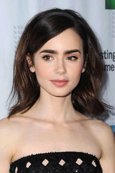 How to perfect pink make-up like Kate Bosworth Lily Collins- HarpersBAZAARUK Lily Collins Makeup, Lily Collins Hair, Lily Collins Eyebrows, Lily Collins Style, Lily Cole, Kate Bosworth, Celebrity Hairstyles, Wig Hairstyles, Perfect Pink