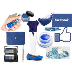 Facebook, created by sds123 on Polyvore