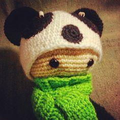 Панда #амигуруми #амигурумик #игрушкиручнойработы #вязаныеигрушки #вязание #вязаныеизделия #handmade