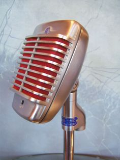 Vintage 1950's Shure 51 Dynamic Microphone Deco Old Used Antique Midcentury 10 | eBay