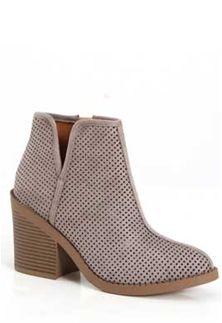 8a67d772c13a4f Soda+Shoes+Tarpon+Perforated+Ankle+Booties+in+Grey+TARPON-S+GREY ...