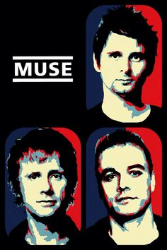 Muse-I LOVE this band. System Of A Down, Iron Maiden, Radiohead, Arte Grunge, Muse Band, Rock Y Metal, Rock Band Posters, Alternative Music, Rock Legends
