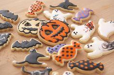 Halloween cookies Halloween Cookies, Sugar, Desserts, Food, Tailgate Desserts, Deserts, Essen, Postres, Meals