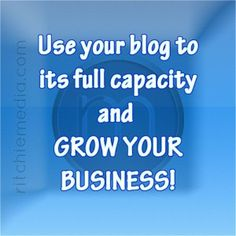 "Want a Reason your Business needs a Blog? Money good Enough !?""  http://assistsocialmedia.com/why-your-business-needs-a-blog/"