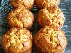 Muffins aux pommes et flocons d'avoine aromatisés à la cannelle