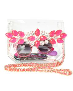 Like Dreams PINK CLEAR BAG at Shop Jeen