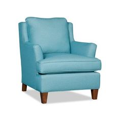 Sam Moore Columbia Club Chair Finish: Espresso, Upholstery: 2708 Citron