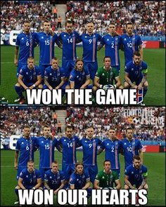 Congratulations to Iceland to advance to last 8 at Euro 2016.