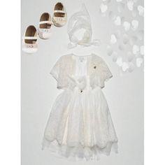 Σετ βάπτισης για κορίτσι με φόρεμα Guy Laroche και παπούτσια Babywalker μοντέρνο και οικονομικό, Πακέτο βάπτισης για κορίτσι με ρούχα Guy Laroche/παπούτσια Babywalker, Βαπτιστικό σετ κορίτσι με φορεματάκι Guy Laroche/παπούτσια Babywalker, Βάπτιση-Βαπτιστι