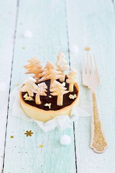 Forest chocolate tart