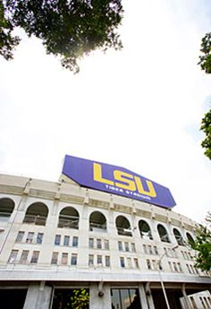 LSU Tiger Stadium - As a student, this was my home, my dorm, for one year. It looks a lot better now. Lsu Tiger Stadium, Lsu Tigers Football, College Football, Louisiana State University, Hot Cheerleaders, Football Stadiums, Death Valley, Sports, Ios App