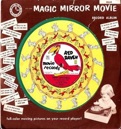 """Red Raven Records and Creepy """"Teddy Bear"""" Themes Movie Records, Red Raven, Picnic Theme, Bear Theme, Magic Mirror, Moving Pictures, Kids Songs, Good Job, 2 Boys"""