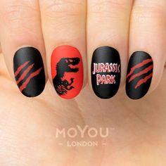 Stamping Nail Polish, Nail Art Stamping Plates, Nails For Kids, Fun Nails, Star Wars Nails, Dinosaur Images, Image Plate, Liquid Nails, Flat Brush