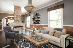 Fixer Upper rooms to inspire your own home decor, including kitchens, living rooms and dining rooms, all with the farmhouse, rustic style we all love!  HGTV's Fixer Upper has, for…