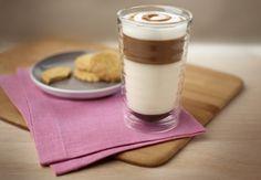 Latte macchiato crème brûlée