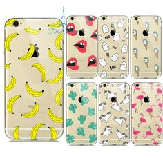 Cheap case for iphone, Buy Quality phone cases directly from China case Suppliers: transparent soft shell Watermelon Fruit Banana Unicorn Sexy lips Phone Back Cover Phone Case For Iphone 6 5 Case Iphone 5 Back Cover, Iphone 5s Covers, Iphone Phone Cases, Cool Phone Cases, 5s Cases, Soft Shell, Coque Iphone, Watermelon Fruit, Sexy