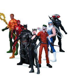 DC COMICS NEW 52 SUPER HEROES VS SUPER VILLAINS AF - PlayAndCollect