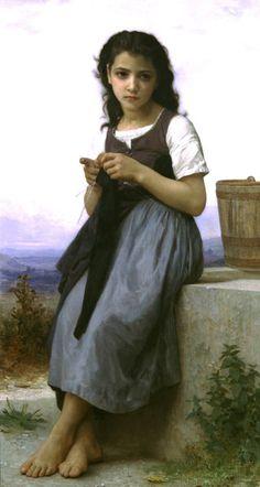 Little Knitter (1884)