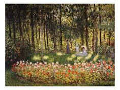 Wooded Scene Giclée-Druck von Claude Monet bei AllPosters.de