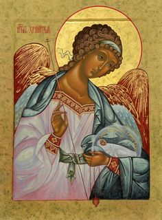 Guardian Angel with Child, Orthodox Christian Icon Byzantine Art, Byzantine Icons, Religious Icons, Religious Art, Angel Drawing, Russian Icons, Russian Style, Art Icon, Guardian Angels