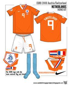 Netherlands - EURO 2008 shirts